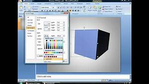 Draw A 3d Powerpoint Shape
