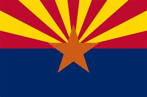 arizona state colors 1000 ideas about states flags on american