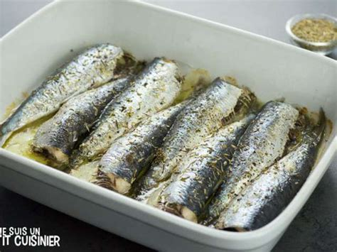 sardine cuisine recettes de sardines et cuisine au four