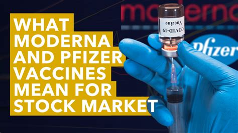 What Moderna and Pfizer Vaccines Mean for Stock Market