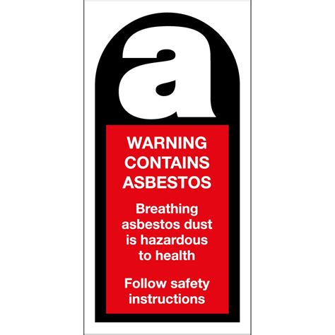 warning  asbestos signs  key signs uk