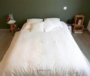 Deco Bois Et Blanc : chambre kaki et blanc visite joli tipi ~ Melissatoandfro.com Idées de Décoration