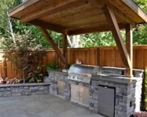 Abri Pour Barbecue Exterieur : idee d co pour espace ou abri pour barbecue ~ Premium-room.com Idées de Décoration