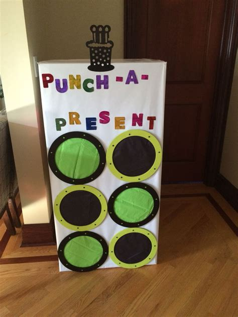 Maybe you would like to learn more about one of these? Punch-a-present gift for birthday.   Christmas gifts for ...