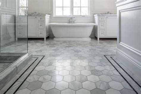 40 gray hexagon bathroom tile ideas and pictures