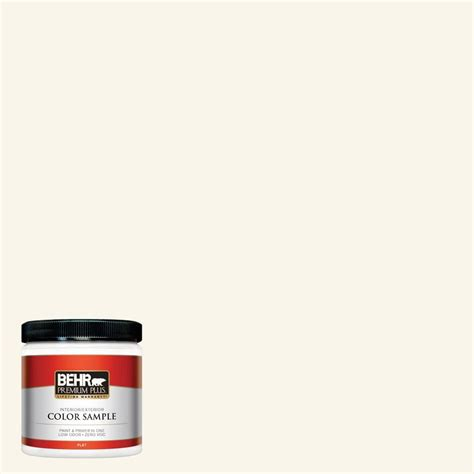 interior paint colors home depot behr premium plus 8 oz or w15 sleek white interior