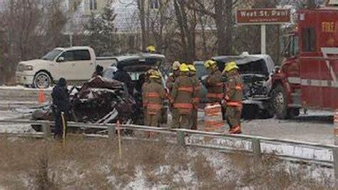 Man Killed In West St. Paul Crash On Highway 9