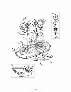 Mtd 13an77ss099  247 288811   2011  Parts Diagram For Mower Deck 42