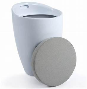 Tabouret Avec Rangement : tabouret pouf ese avec rangement ~ Teatrodelosmanantiales.com Idées de Décoration