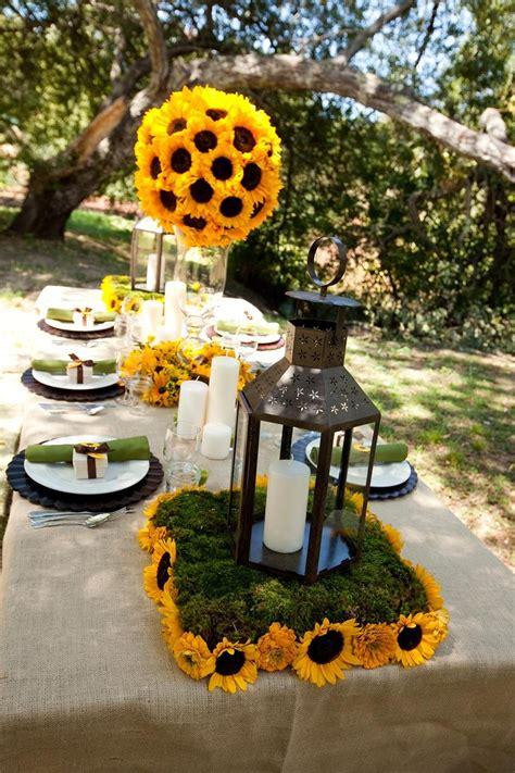 Sunflower Centerpiece Ideas Wedding Centerpiecefavor