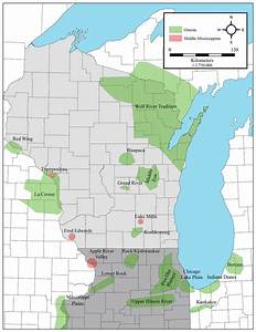 1  Oneota And Middle Mississippian Localities In Wisconsin