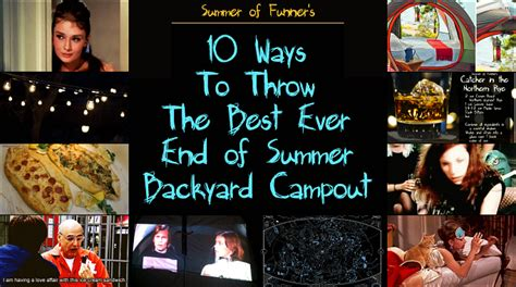 How To Throw A Summer Backyard - 10 ways to throw the best end of summer backyard