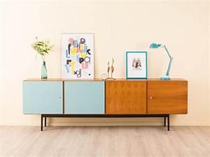 Mid Century Möbel : sideboard musterring 50er 60er kommode vintage von mid ~ A.2002-acura-tl-radio.info Haus und Dekorationen