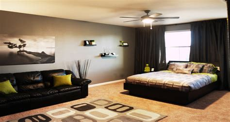 Popular Area Rugs by Modern Bachelor S Room Modern Bedroom Las Vegas By