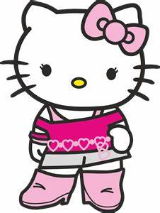Hello Kitty Logo Vector (.CDR) Free Download