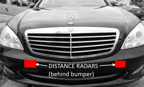 mercedes radar sensor problems solutions mb medic