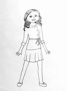 American Girl Doll Coloring Pages - Bestofcoloring.com
