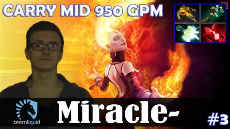 miracle lina carry mid 950 gpm dota 2 pro mmr gameplay 3 youtube