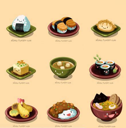 Cute Japanese Food