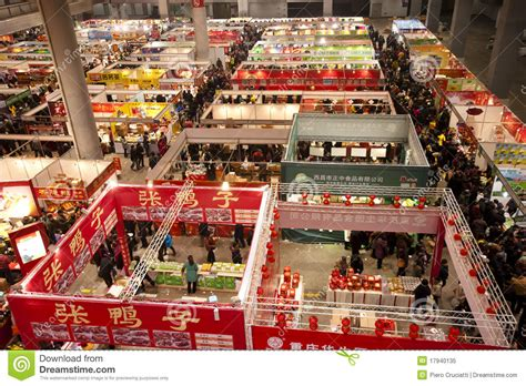 rabbit year food exposition in chongqing china editorial