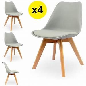 Chaise Bébé Scandinave : chaise scandinave grise achat vente chaise scandinave grise pas cher cdiscount ~ Teatrodelosmanantiales.com Idées de Décoration