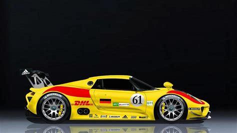 porsche 918 racing porsche 918 rsr race car rendered