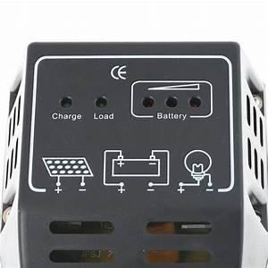 Régulateur Pour Panneau Solaire : regulateur solaire de charge 12v 24v 10a pour panneau pv batterie ~ Medecine-chirurgie-esthetiques.com Avis de Voitures