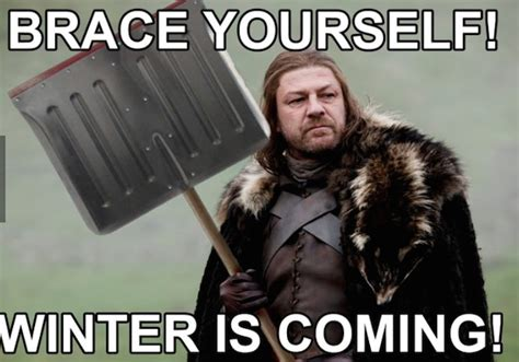 Brace Yourself Meme Snow - 2 new shirts for game of thrones fans cracked com