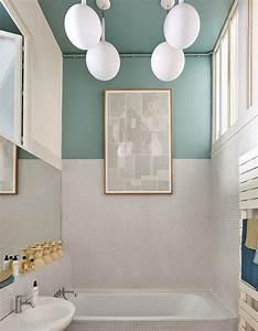 Couleur Mur Salle De Bain : couleur salle de bains 15 astuces pour apporter de la couleur la salle de bains elle ~ Dode.kayakingforconservation.com Idées de Décoration