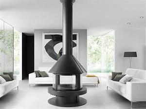 Cheminée Centrale Prix : cheminee centrale ronde ~ Premium-room.com Idées de Décoration