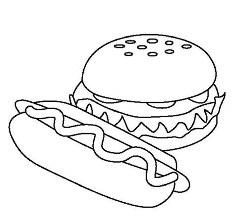 food hamburger models