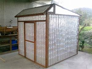 diy serre de jardin recup a faire soi meme With toit en verre maison 8 construire une serre en bouteilles plastique