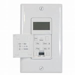 Shop Utilitech 15-Amp Digital Residential Hardwired ...