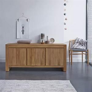 Buffet En Teck : buffet en teck eden petit meuble en teck chez tikamoon ~ Teatrodelosmanantiales.com Idées de Décoration