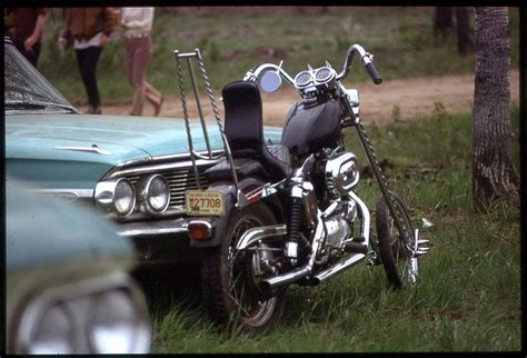 Vintage 1970s Harley Davidson Sportster Custom Chopper