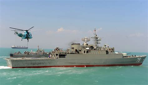 Iranian Navy Accidentally Fires on Own Ship in Training ...