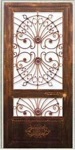 porte en fer forge berenice porte en fer forge style With de couleur peinture 5 portail fer forge style classique cadre chapeau de