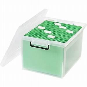 irisr 36 quart letter legal size file box with buckles With staples letter legal file box