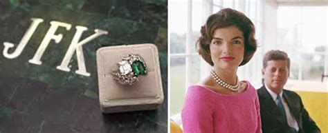 the jacqueline jackie kennedy engagement ring engagement rings