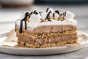 "No-Bake S'more ""Cake"" Recipe - Kraft Canada"