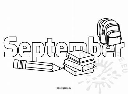 September Coloring