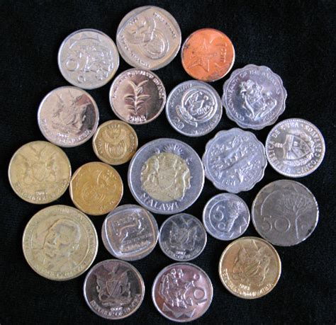 Winter 2009 Coins | The 9 countries where I spent the 2008 ...