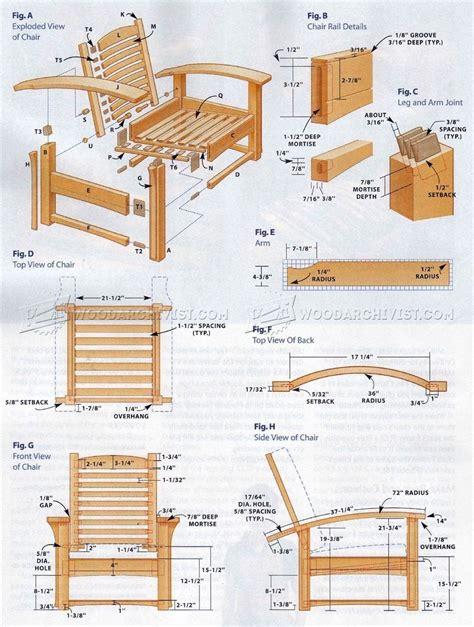 morris chair plans furniture plans projects   morris chair craftsman furniture chair