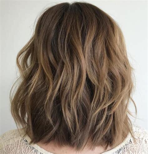 sensational medium length haircuts  thick hair hairs