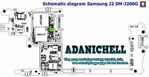 Schematic Diagram Samsung J2 Sm-j200g 100  Akurat