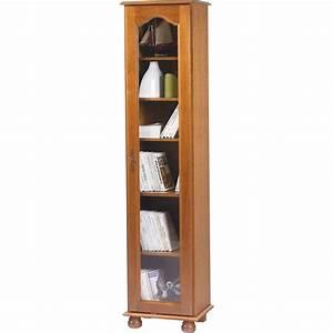Bibliotheque Chene Clair : biblioth que 1 grande porte vitr e ch ne beaux meubles ~ Voncanada.com Idées de Décoration