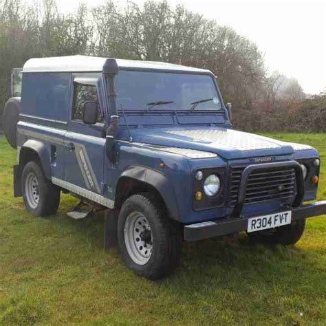land rover defender tdi land rover defender tdi 90 300 car for sale
