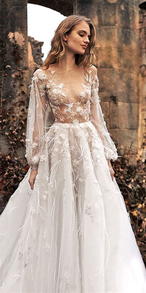 36 Pretty Floral Wedding Dresses For Brides Dream