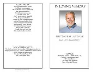 funeral programs templates free funeral program templates funeral programs plain