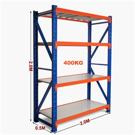 New 2m Warehouse Garage Metal Steel Storage Shelving